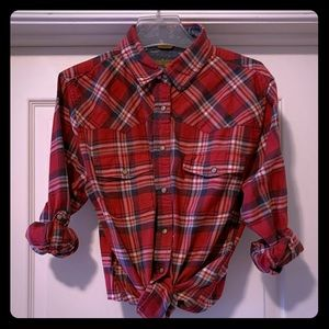 Jach's Girlfriend Plaid Button Down Shirt